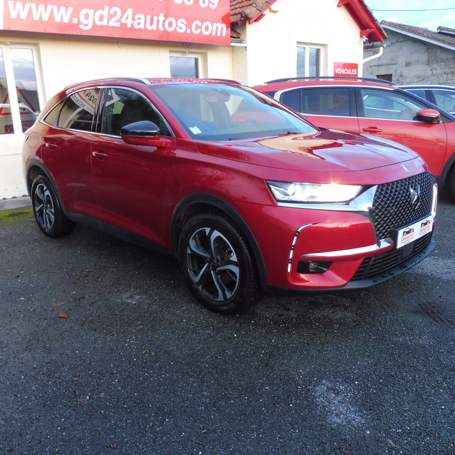 DS DS 7 CROSSBACK 1.5 BLUEHDI 130 SO CHIC+options